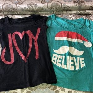 Tops - Christmas Shirts Set of 2